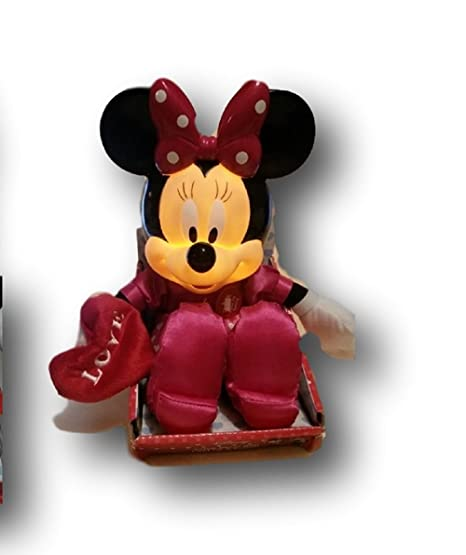 Disneys Minnie Mouse Sofite Decor With Light Up Sound