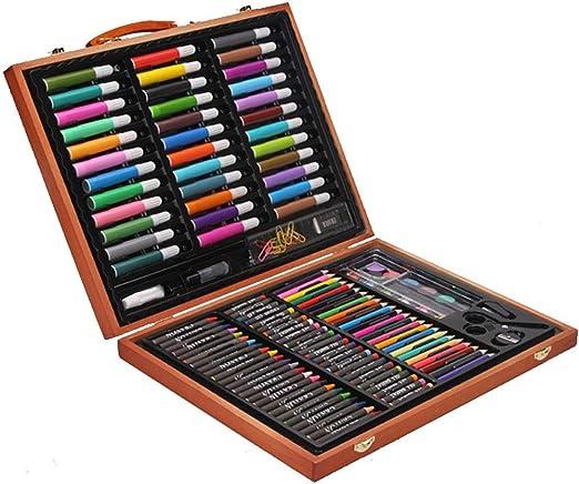 Wuxingqing Lápices de Colores Sketch Set Arte de Madera de Lujo ...