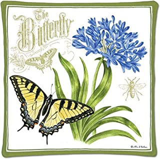 product image for Alices Cottage Scented Spice Hot Pad with Butterfly Design   12-478, Size 10 x 10