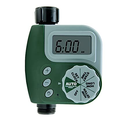 Buy Lifebee Water Hose Timer, One Port Automatic Large Digital ...