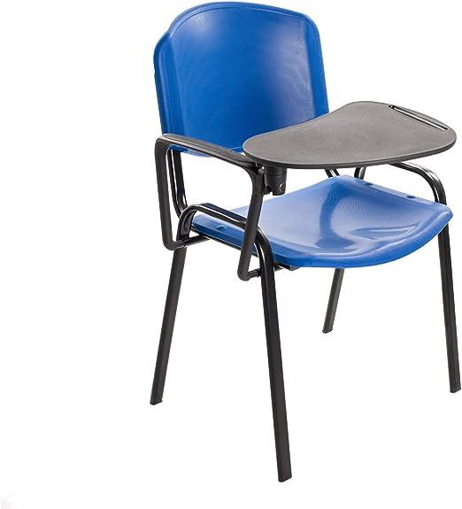 Stock Sedie In Plastica.Notek Srl Stock Di 6 Sedie Impilabili In Plastica Dura Con