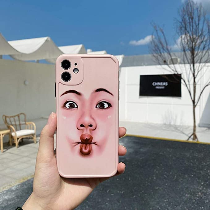 N//B Selfie blocking face expression funny soft shell for Apple iPhone 7//8 iPhone XR iPhone 11 Case Shockproof Cover anti-fall Phone Case Case iPhoneX iPhone X//XS Nozzle expression