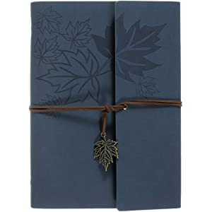 Amazon.com : Leather Journal, MaleDen Vintage Spiral Bound ...
