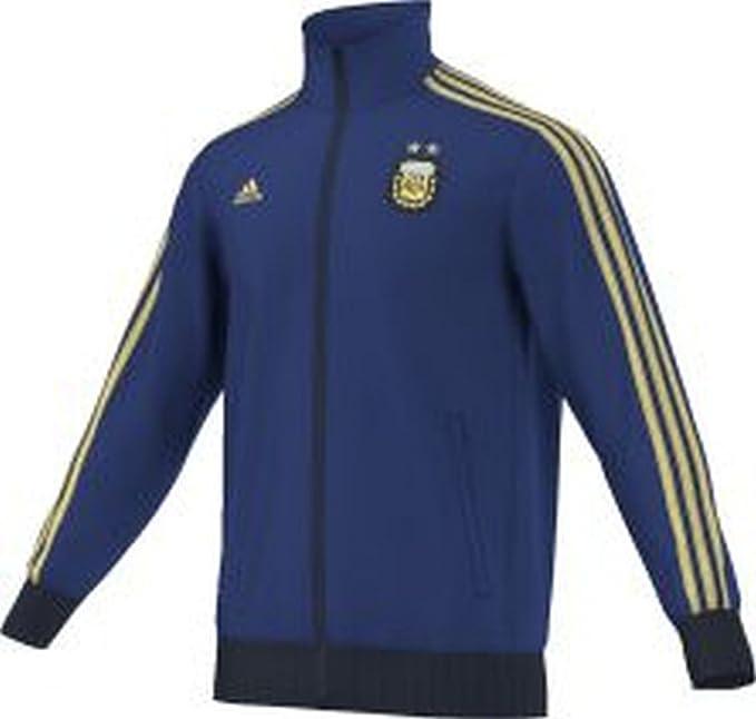 adidas AFA TRK Top Chándal, Hombre, Azul/Blanco/Amarillo, L ...