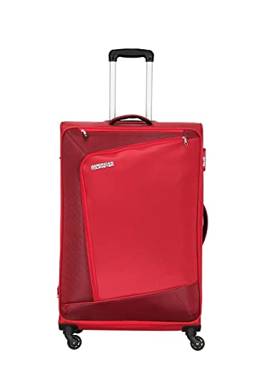 American Tourister Polyester 82 Cms Red Suitcases   Trolley Bags   Amazon.in  Bags, Wallets   Luggage 17a4201c29