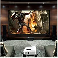 3000 Lumens FHD 3D Home Theater LED Multimedia LCD Projector 1080P HDMI/TV/VGA
