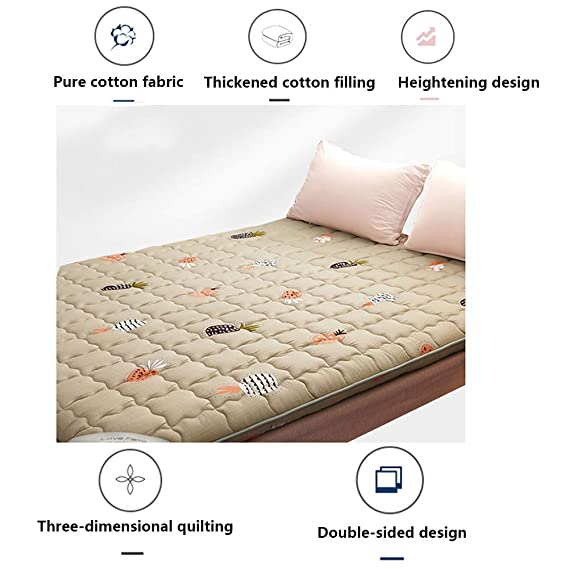 Amazon.com: Colchón plegable, colchón, colchón portátil ...