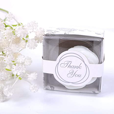 Amazon Aixiang Aixiang 24 Pack Handmade White Rose Style Soap