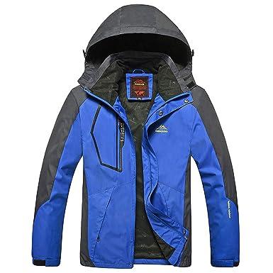 ZODOF Chaqueta Slim para Hombre Abrigo Exterior de Primavera con Capucha para Hombre Sombrero con Cremallera extraíble Sport Assault Coat: Amazon.es: Ropa y ...
