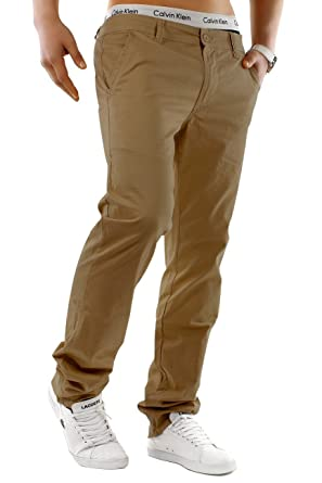 3fcbdf546220 ArizonaShopping - Hosen Herren Chino Hose Stretch Jeans Slim Fit H1245   Amazon.de  Bekleidung