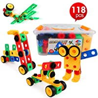 LBLA STEM Building Toys for Boys and Girls Age 3 4 5 6 7 8 9 10 Year Old STEM Learning...