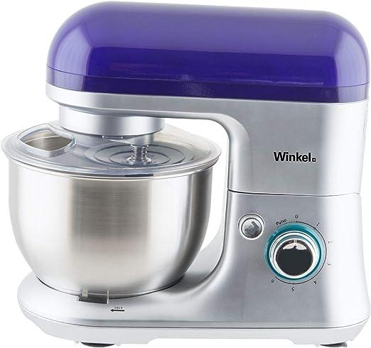 Winkel RX60 Robot de cocina multifunción, batidora amasadora, 650 W, Morado: Amazon.es: Hogar