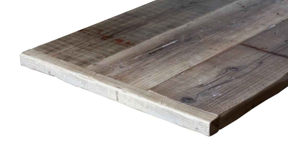 OLD ASHIBA(足場板古材)フリー板(幅つなぎ材) 厚35×幅590(3枚あわせ)×長さ1990mm 無塗装 B075ZNTYMW 長さ1990mm  長さ1990mm