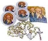 Westman Works St Benedict Rosary Saint Gift Set