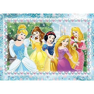 Lisciani Giochi Princess Puzzle In A Tub Maxi 108 Disney 652950