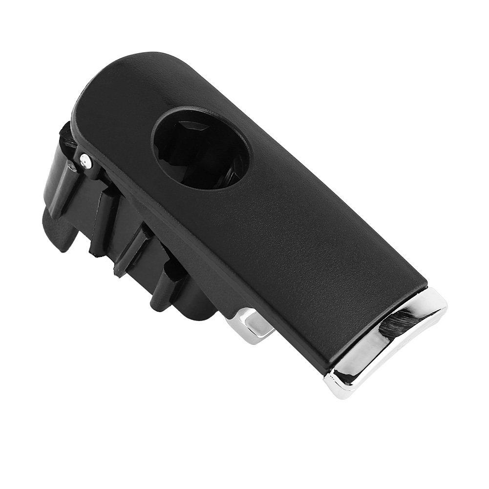 Reminnbor Tapa de la Caja de Guantes Impulsor de la Mano Izquierda Tirador con Agujero de Bloqueo para A4 8E B6 B7 2001-2007
