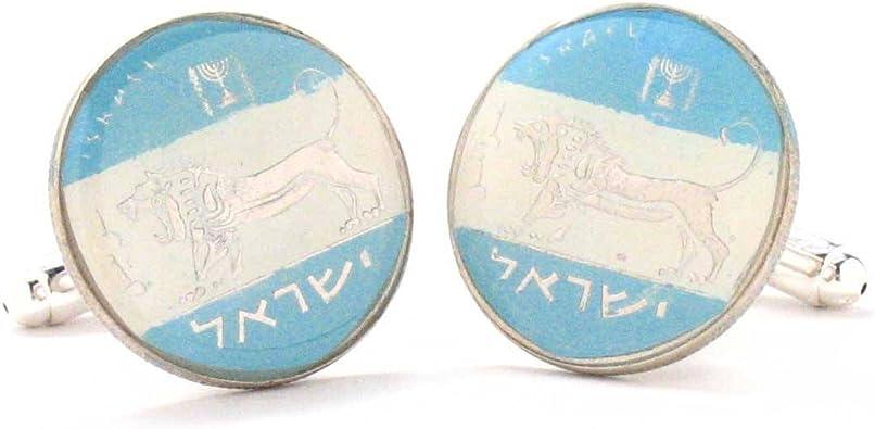 Marcos Villa Israel Monedas Gemelos Gemelos Bandera de ...