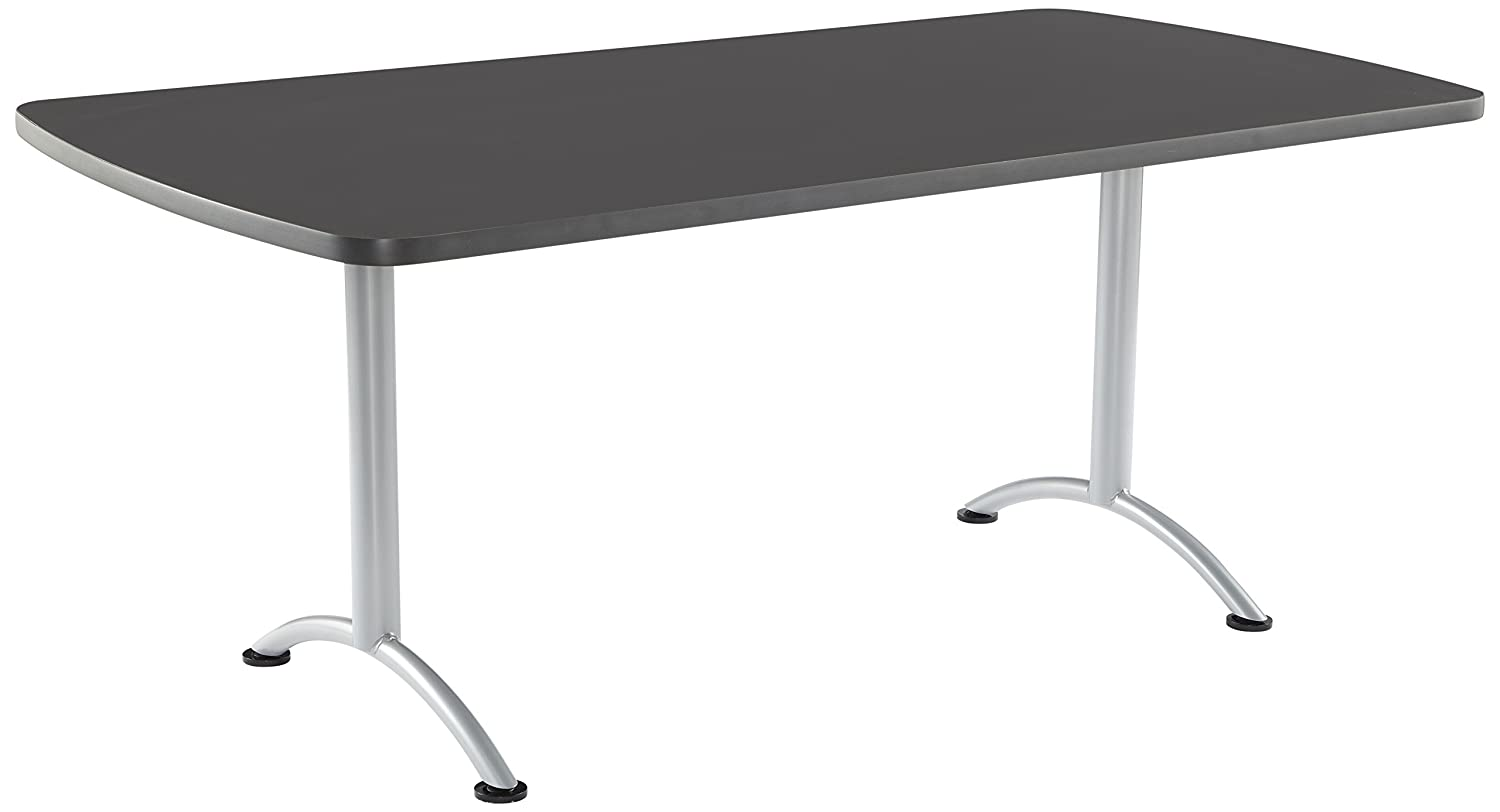 Iceberg ICE69227 ARC 6-foot Rectangular Conference Table, 36 x 72 , Graphite Silver Leg