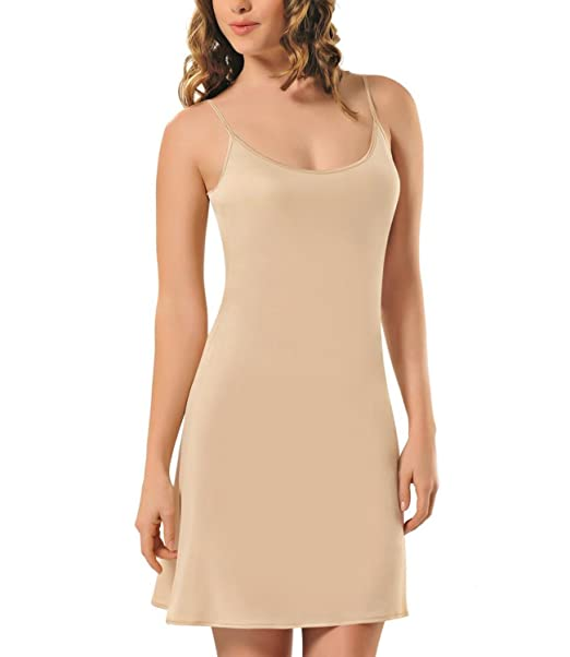 Zigma Fashion - Camisón de la marca Zigma Fashion, vestido interior para mujer beige 44