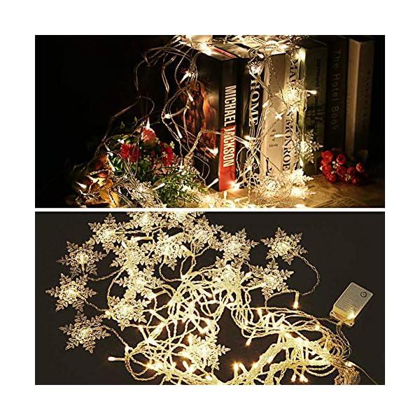 LED Tenda Luminosa, Catena Luminosa, Cascata led, Luci cascata, Luci per Tende, 3.5 * 0.8m 93Luci Stringa Bianco Caldo 8 Modalità Impermeabili IP44, per finestra, porta, patio, giardino, feste,Natale 6 spesavip