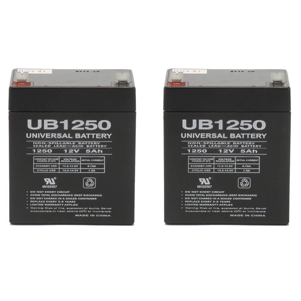 Razor E100-E125-E150 Replacement Batteries. Reuse Existing Connectors.- Not Compatible with Power Core E100 - Includes 2 Batteries