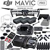 DJI Mavic Pro Quadcopter Drone with 4K Camera - 3 Battery Professional Bundle