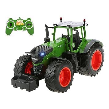 4e65d60f5150ec Goolsky Double e E351-001 Télécommande 1 16 Tracteur Agricole RC Voiture