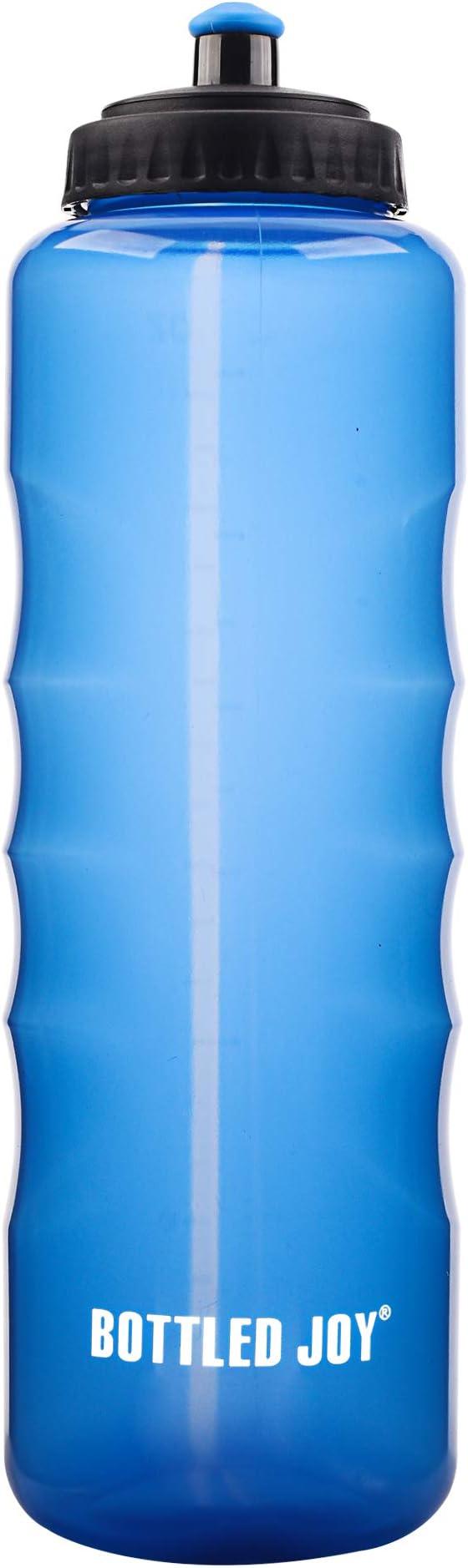 Joy Sports Bouteille deau en Bouteille Bleu Clair 1.5L