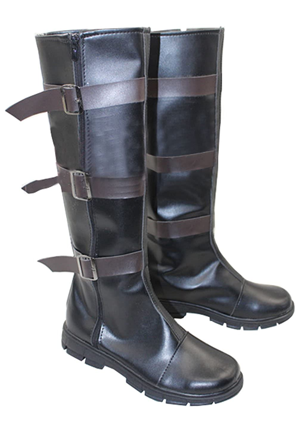 Deluxe Steve Roger Captain America Civil War Cosplay Costume Boots - DeluxeAdultCostumes.com