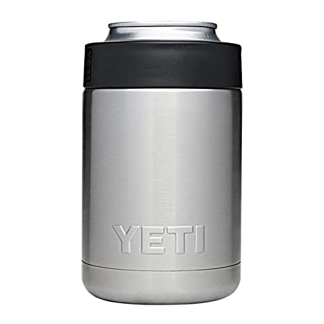 9ac2f883a46 Amazon.com: YETI Rambler Colster Can and Bottle Holder Silver One ...