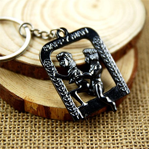 Sex Toy Erotic Pendant Key Ring Lover Sexy Toy for Couples Gifts Key Chain Sexual Metal 1 by AdultS