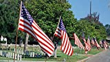 ALEKO USFL3X5 Polyester U.S. Flag 3X5 Feet American Stars and Stripes United States (10)