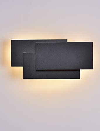 Solfart led wall lights indoor modern wall wash lighting fixtures solfart led wall lights indoor modern wall wash lighting fixtures white aluminum black finishing mozeypictures Image collections