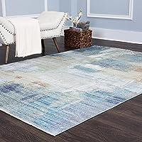 Home Dynamix Nicole Miller Artisan Navarro Runner Area Rug, 2x6, Blue/Beige/Green