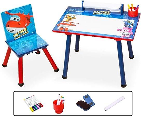 Juegos de mesas y sillas Mesa Para Niños Mesa De Estudio Multifunción De Madera Mesa De