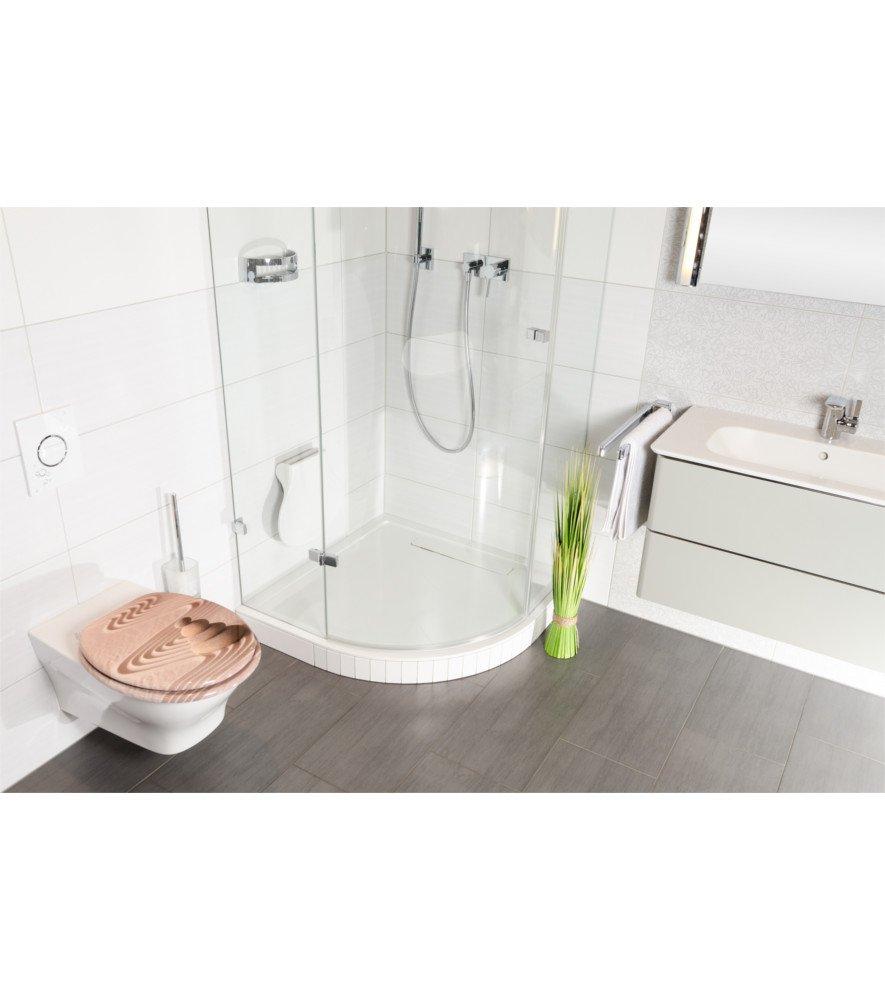 Rilassamento grande scelta di belli sedili WC da legno robusto e di alta qualit/à Sedile WC con chiusura ammortizzata