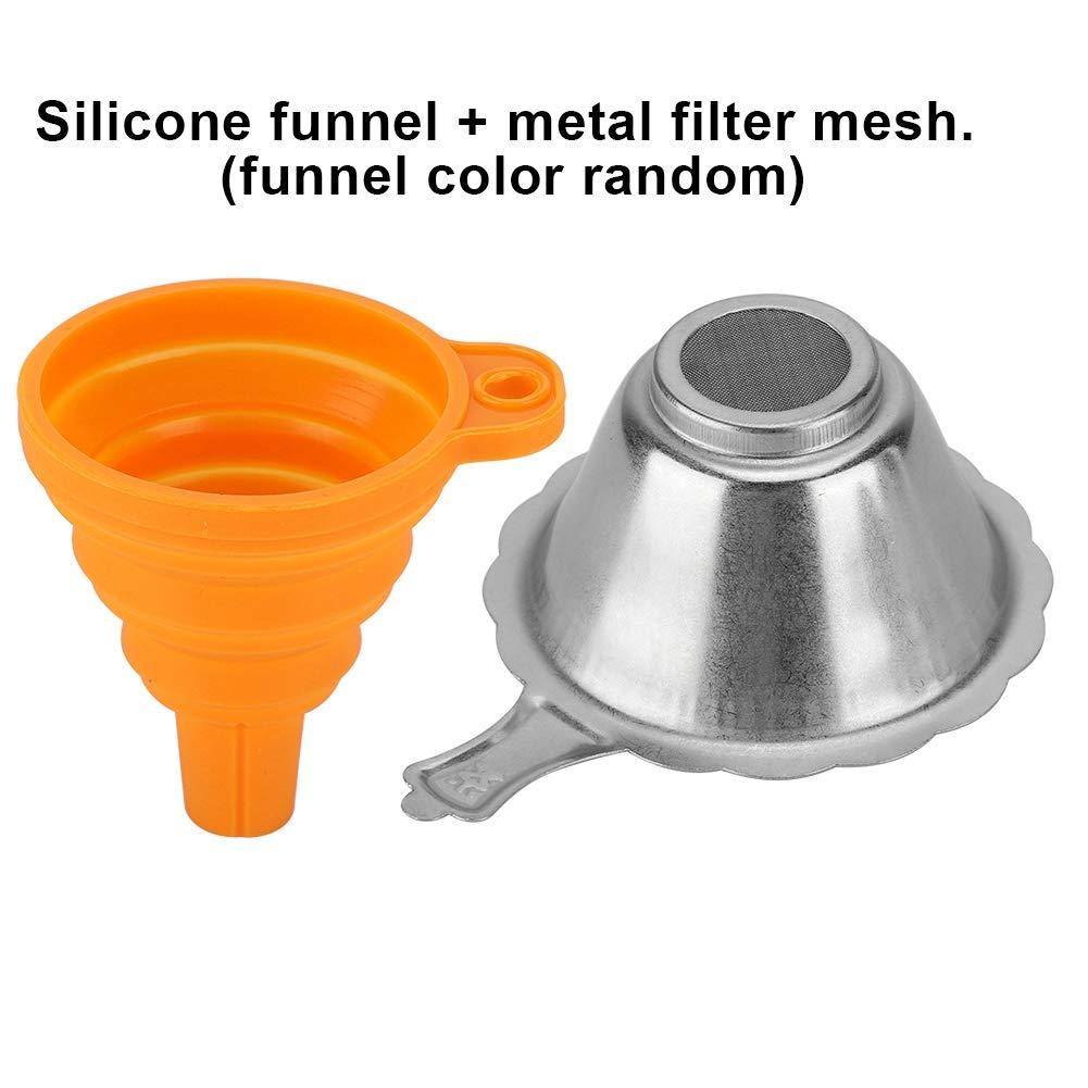 Accessori per stampanti 3D Filtro Resina Filtro Imbuto Coppa Filtro Lazmin Filtro consumabile per fotopolimerizzazione 3D silicio Imbuto