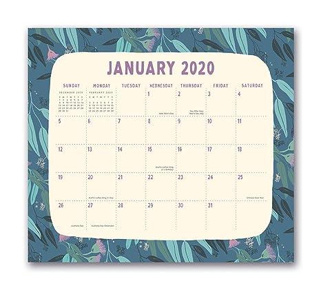 A Perfect Circle Tour 2020 Amazon.: Orange Circle Studio 2020 Magnetic Monthly Calendar