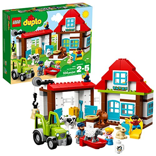 LEGO DUPLO Town Farm Adventures 10869 Building Kit (104 Piece), Multi