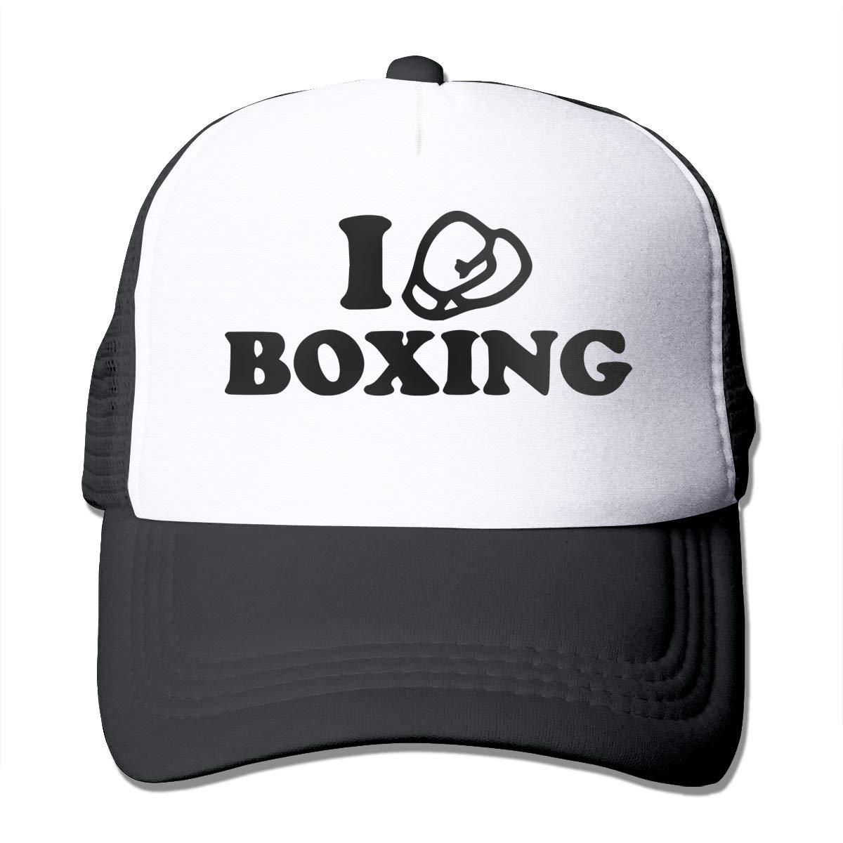 I Love Boxing Trucker Dad-Hat Adjustable Outdoors