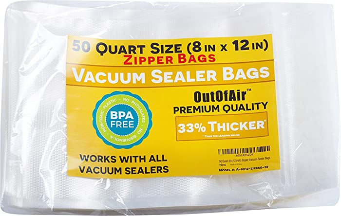 The Best Food Sealer Zipper Vacuum Bags