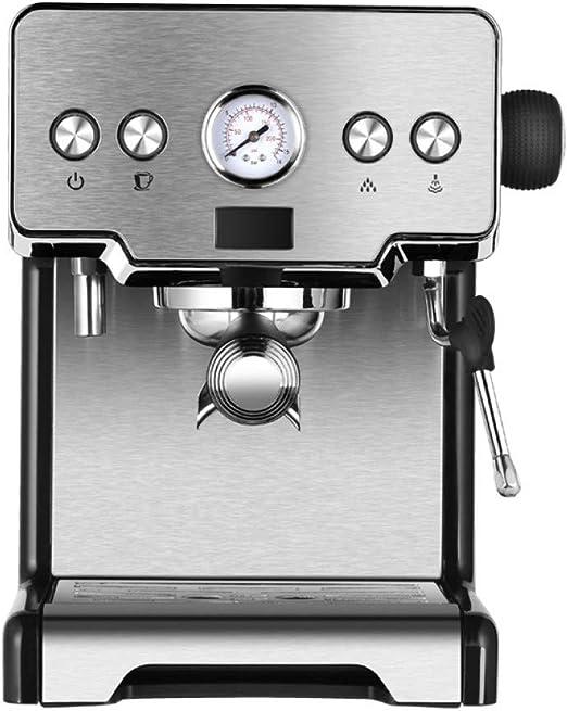 KOUDAG Cafetera Máquina de café Espresso Máquina de café de Acero ...