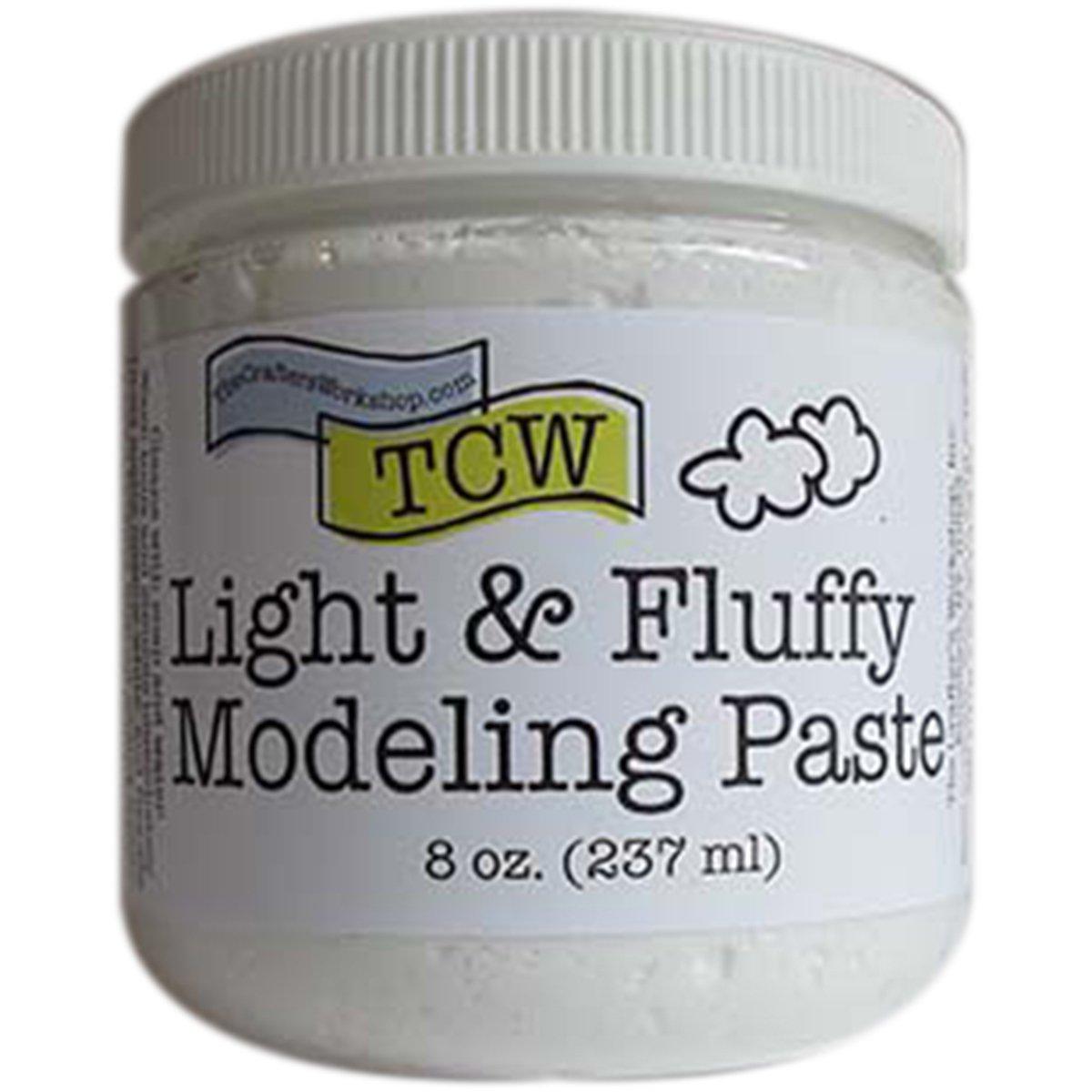 Crafter's Workshop, The Modeling Paste 8oz Light/Flu, None