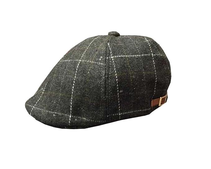Baschi Bambini Baschi Scozzesi Bambine Irlandese Berretto a Quadri Vintage  Classica Cappello Feltro Primavera Autunno Cappellino 339b854ae4c5