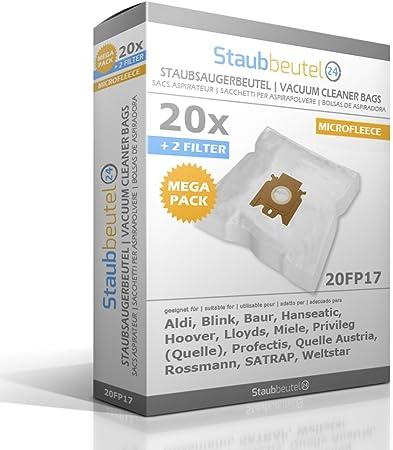 PakTrade 4 Sacchetti per Aspirapolvere Miele Caramel 700 S711 S254I S 254 I