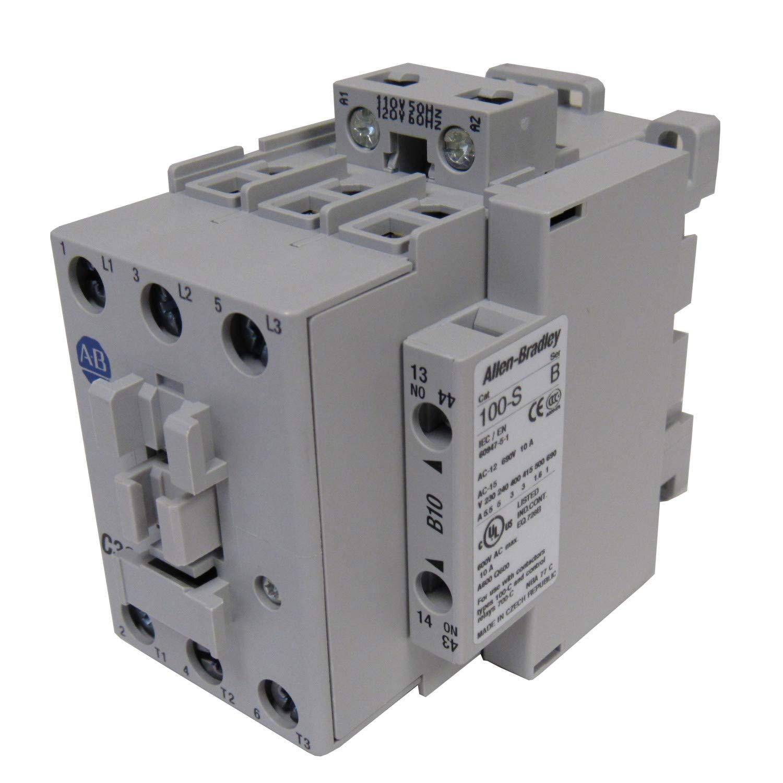 Allen Bradley 100-C30D10 Standard Contactor 30AMP 120VAC