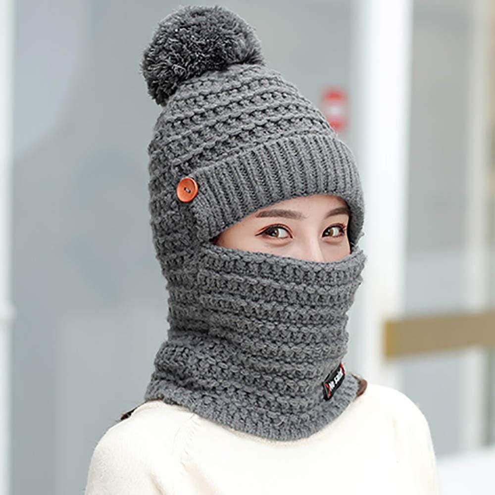 Beanie Cappello pompon Pelliccia Pompon Per Knit Maglia SCI Caldi Invernali PAC Donne Uomini