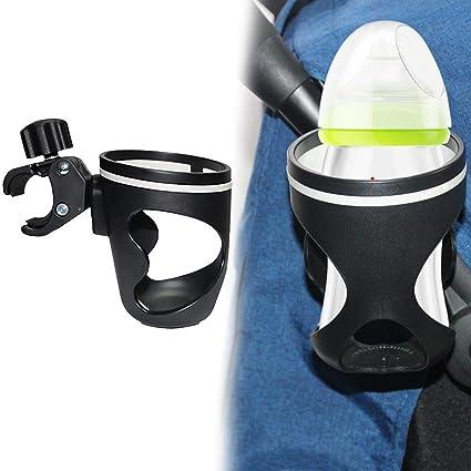 Cochecito Portavasos Cochecito universal Cochecito Soporte para biberones Organizador de vasos de biberones con gancho para
