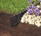 Master Mark Plastics 97201 4' Black Premiere Landscape Edging