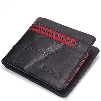 Penao Mode Nähen Querschnitt Portemonnaie Mann Leder